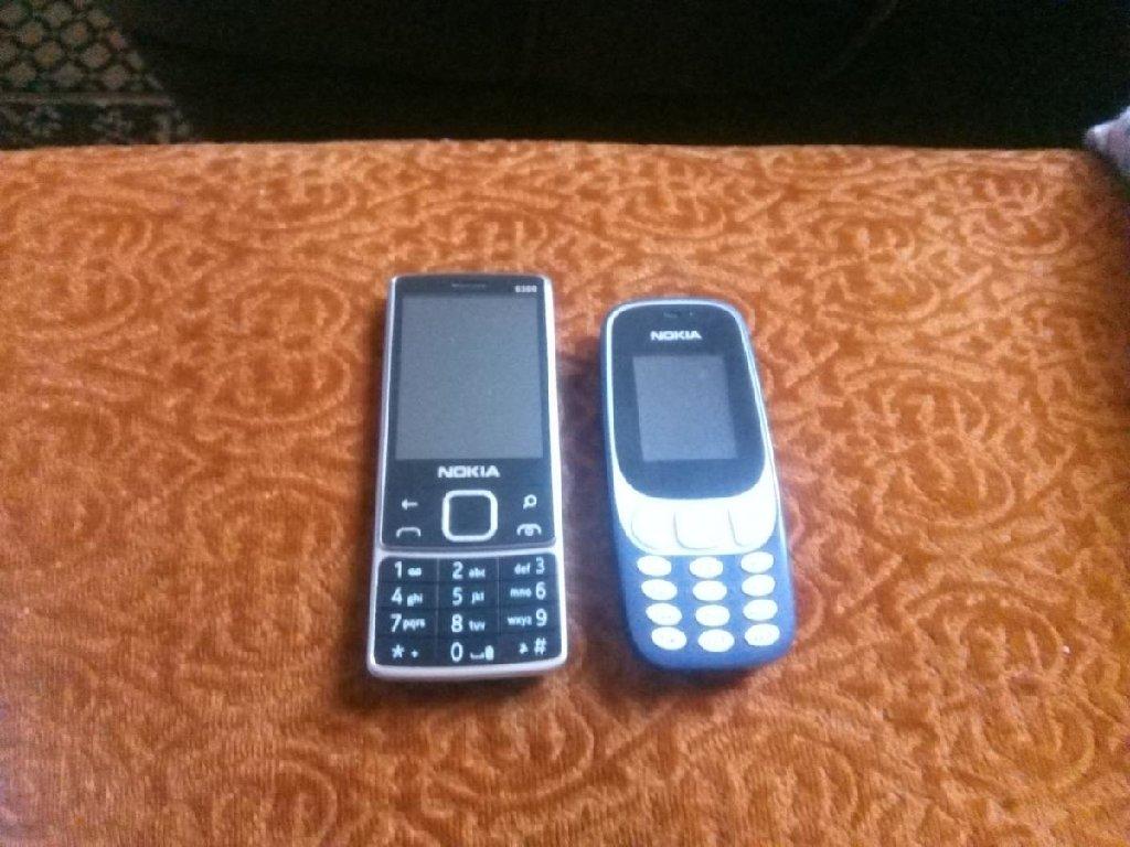 Nokia 6300 dual sim bez ostecenja i Nokia 3310 dual sim bez ostecenja cena za oba 3000