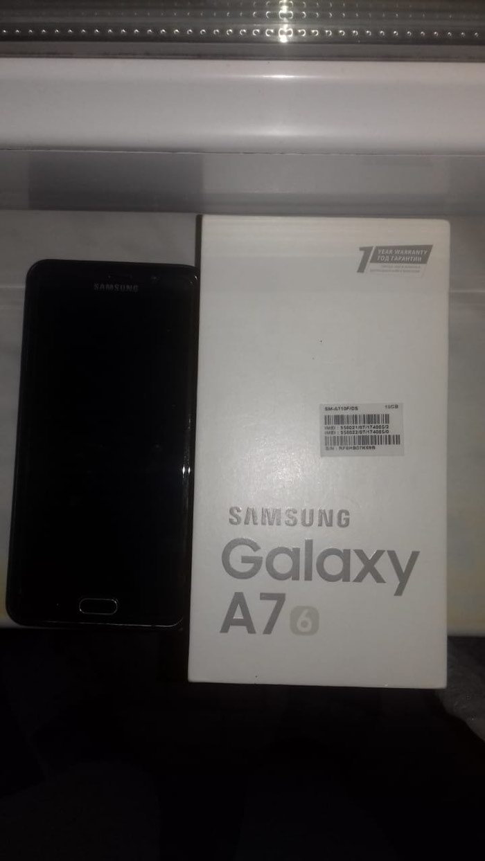 Б/у Samsung Galaxy A7 16 ГБ Черный. Photo 0