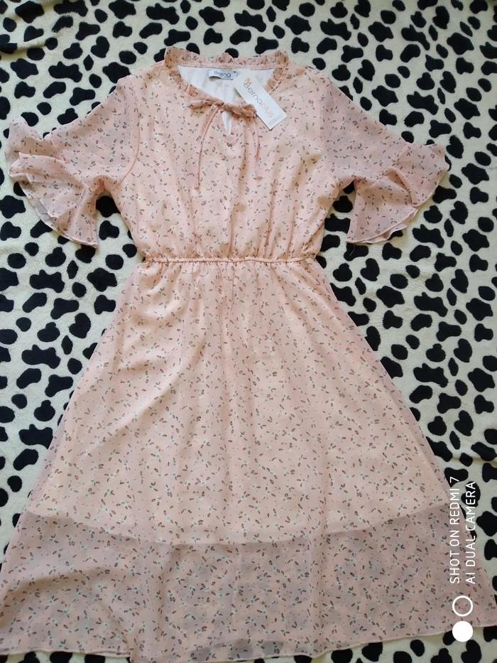 Новое шифоновое платье, 42 размер.. Photo 0