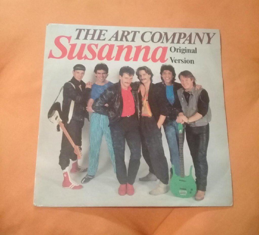 The art company SUSANNA, originalno singl iz 1984