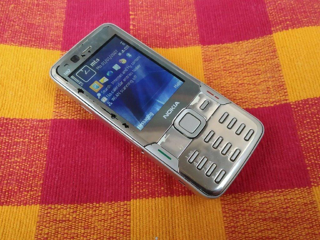 Nokia N82 - Titanium  Smartphone, ΠΛΗΡΩς ΛΕΙΤΟΥΡΓΙΚΟ, ΜΕ ΑΓΓΛΙΚΟ ΜΕΝΟΥ, ΧΩΡΙΣ ΦΟΡΤΙΣΤΗ