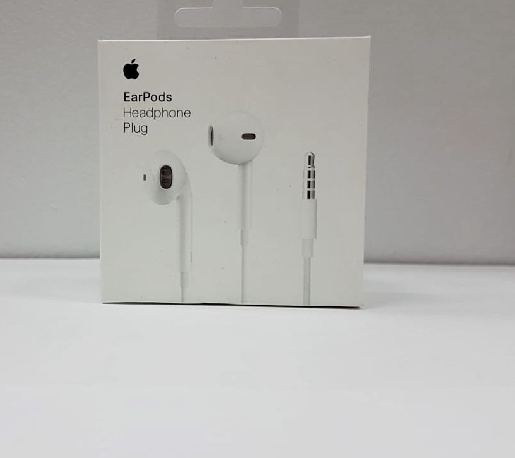 Наушники Apple EarPods White, штекер:  jack 3,5mm
