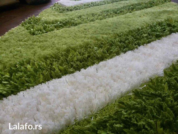 prelepa svilena staza (br.145) 150x80cm. oprana prelepa svilena - Surdulica