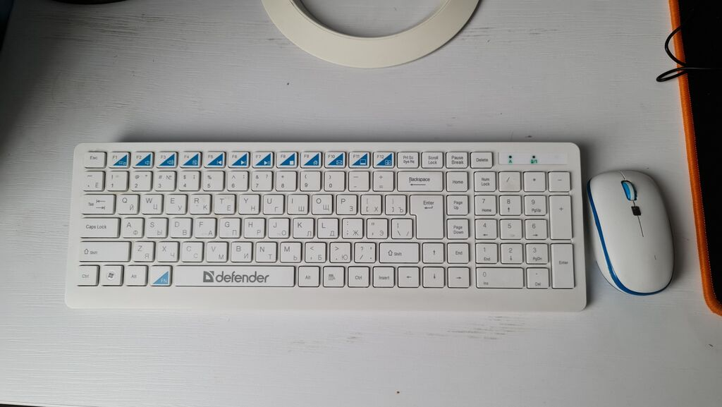 Беспроводная клавиатура и мышка Defender для офиса и дома.Цвет: Беспроводная клавиатура и мышка Defender для офиса и дома.Цвет: