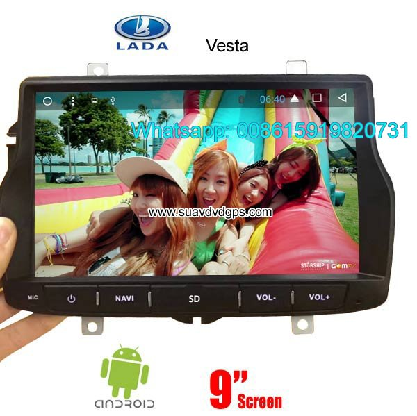Lada Vesta Car audio radio android GPS navigation camera