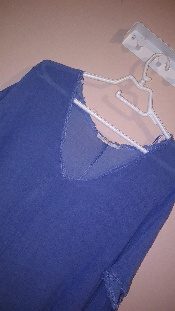 Τουνίκ , σε γαλάζιο χρώμα. μάρκας mat  Σχεδόν αφόρετη !  νουμ. O/S. Photo 1