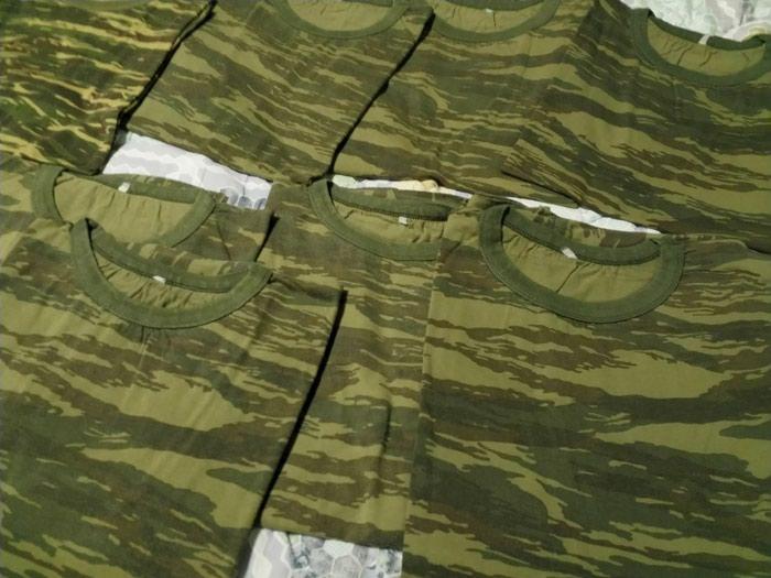 8 Μπλουζάκια t- shirt χακί στρατιωτικά Medium size σε καλη κατάσταση . Photo 0