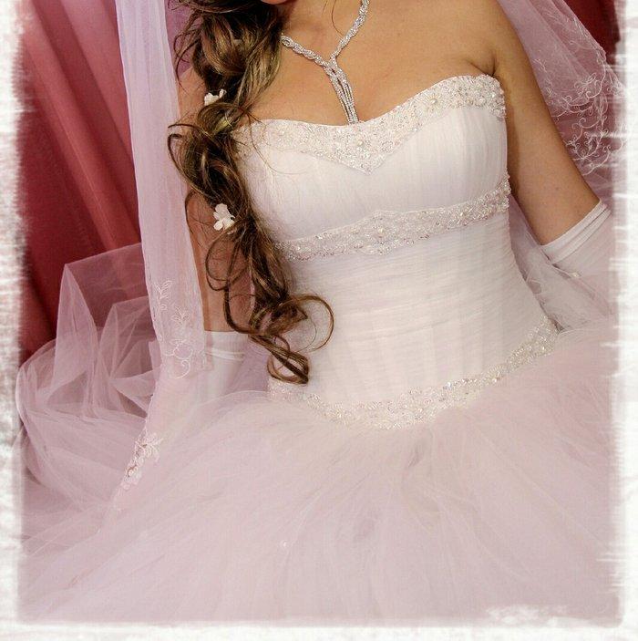 Продаю белое свадебное платье и в Бишкек