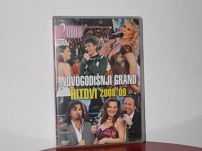 Dvd novogodisnji grand hitovi 2008,09 preko 70 hitova na dva dvd - Beograd