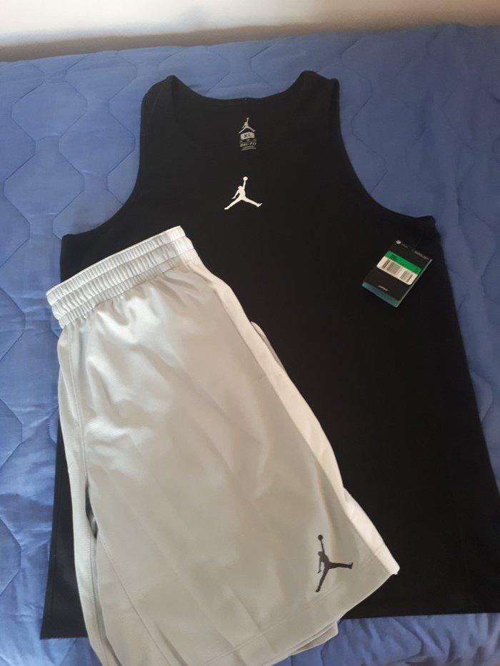 Βερμουδα με μπλουζα nike jordan μπασκετικα.. Photo 1