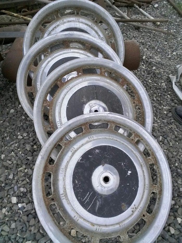 Volqa qaz avtomobil disk təkər kalpakları 1 komplekt 4 ədəd. Photo 0