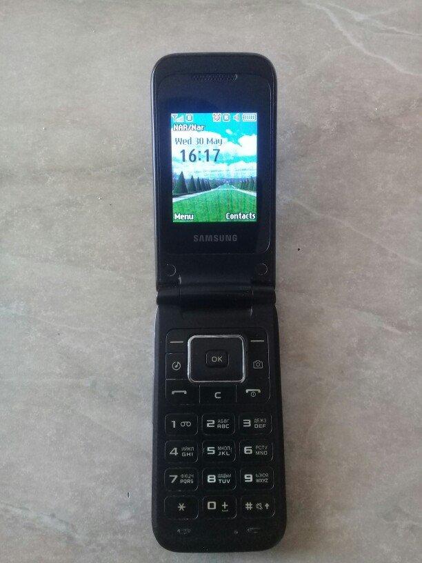 Bakı şəhərində Samsung E2530 ideal veziyyetdedir.mp3,microkart desdekleyir.blutuz