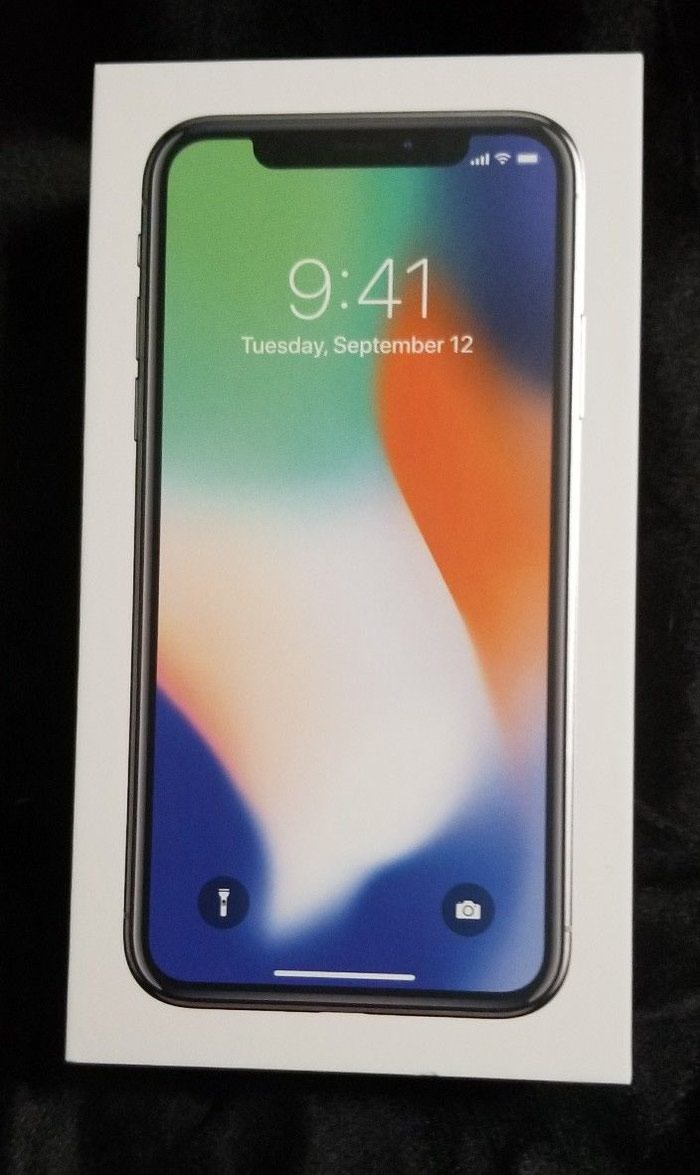 Apple iPhone X - 256GB - Silver (AT&T/T-Mobile) A1901 (GSM) . Photo 2