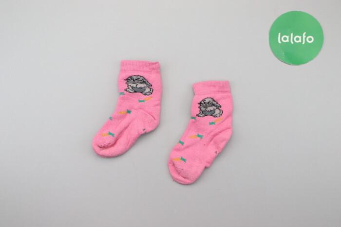 Дитячі теплі шкарпетки з зайчиками     Довжина стопи: 12 см  Стан гарн: Дитячі теплі шкарпетки з зайчиками     Довжина стопи: 12 см  Стан гарн