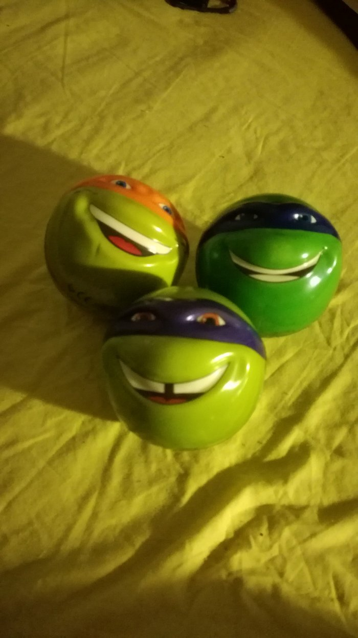 Ninja Turtles soft balls. They're not sold separately.. Photo 0