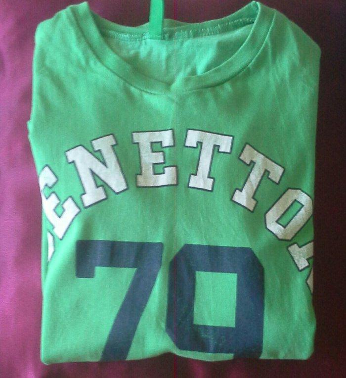 Benetton futbolka geyilib 3azn 9-10 yaş oģlancin. Photo 0