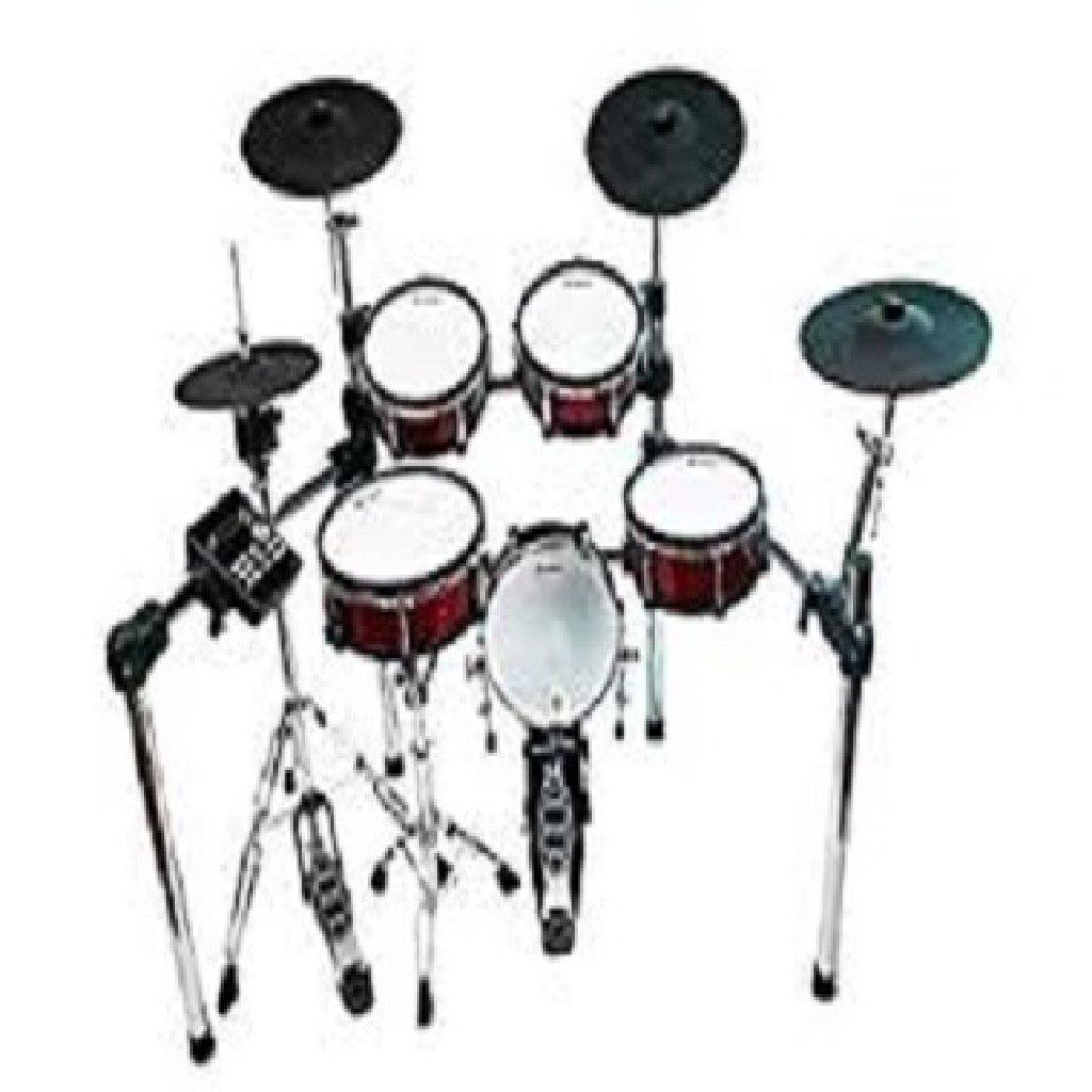 Lemon T850 mesh head wooden digital drum set 9-piece electronic drum set percussion jazz