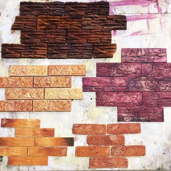 Декоративные кирпич(гипсовая плитка искусственный камень и  балесины . Photo 3