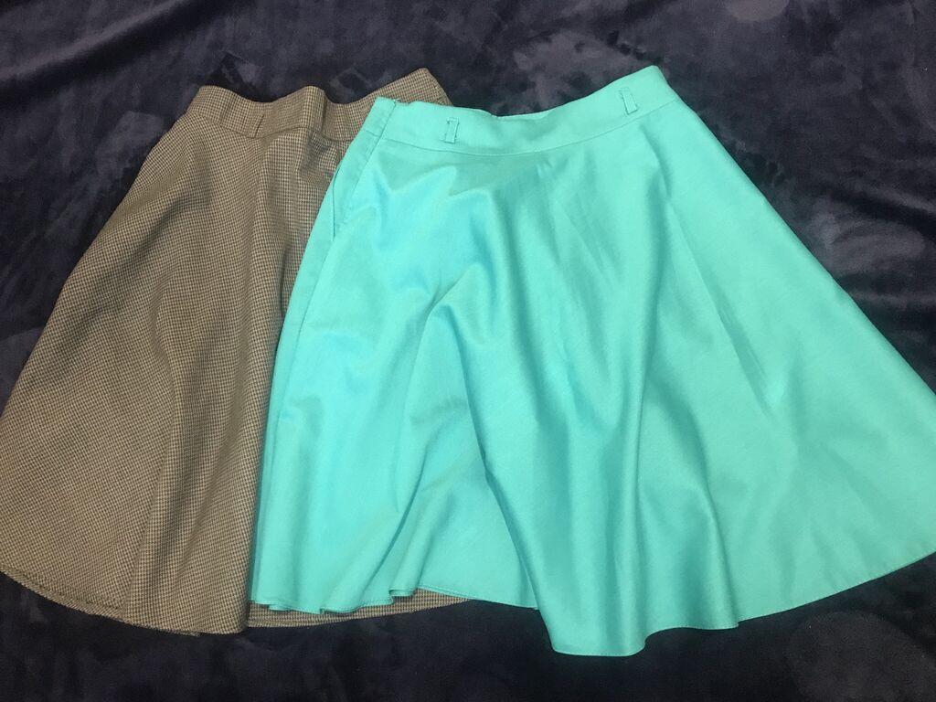 Новые юбочки, размер 42. Одна за 250 сом, две сразу отдам за 400 сом