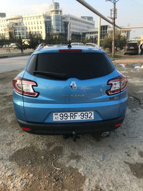 Renault Megane 1.5 l. 2013 | 169000 km