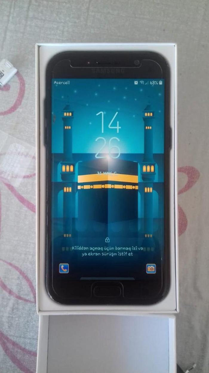 Samux şəhərində İşlənmiş Samsung Galaxy A5 2017 32 GB qara