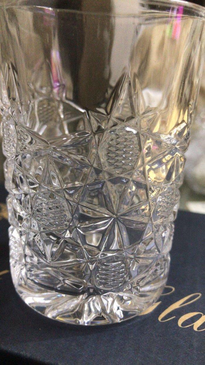 Хрустальные стаканы в упаковке. 6 шт.15.ман. Photo 2