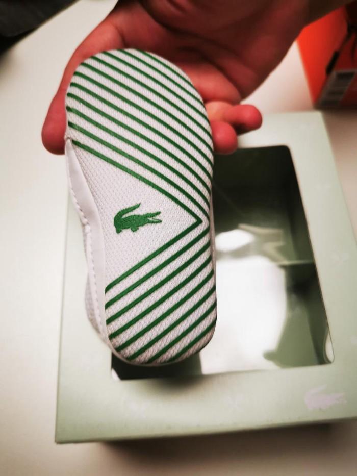 Παπούτσια αγκαλιάς lacoste 35€ Καινούργια. Photo 2