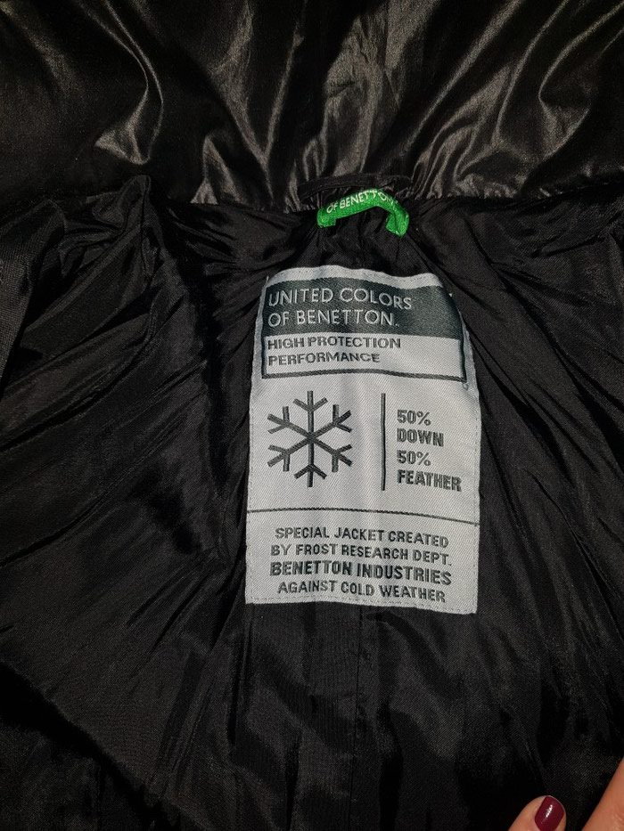 Benetton perjana jakna velcina S.. Photo 1