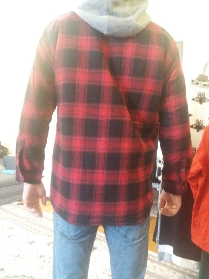 68a83a86094b641 Теплая мужская рубашка из Бангладеш за 1300 KGS в Бишкеке: Мужские ...