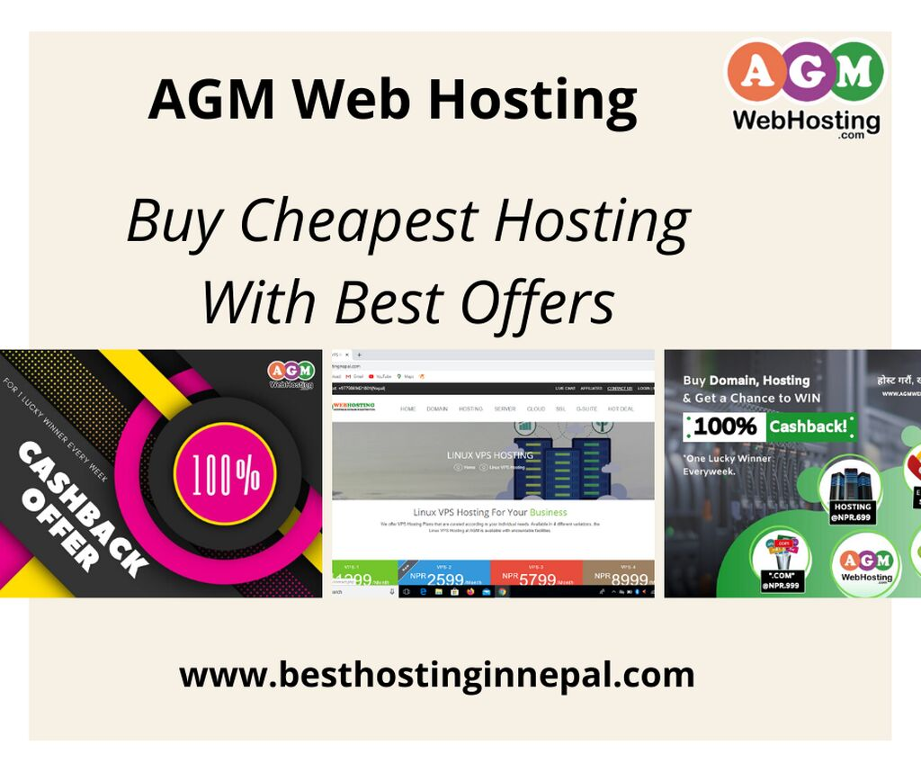 Buy Cheapest Hosting with Best offers - Best Hosting in Nepal