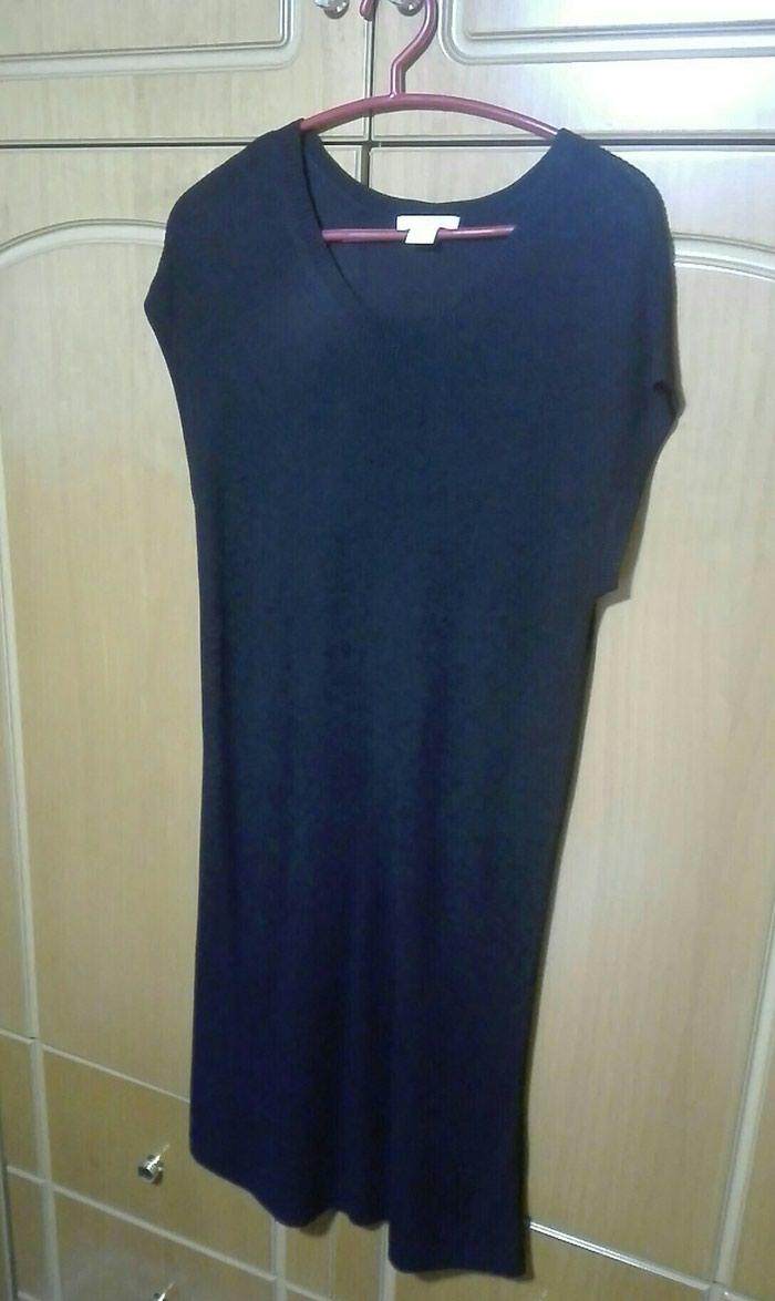 Φόρεμα πλεκτό ελαστικό κοντό medium. Photo 0