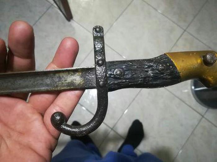 Σπαθι σαμουραι ετος 1876 αντικα. Photo 1