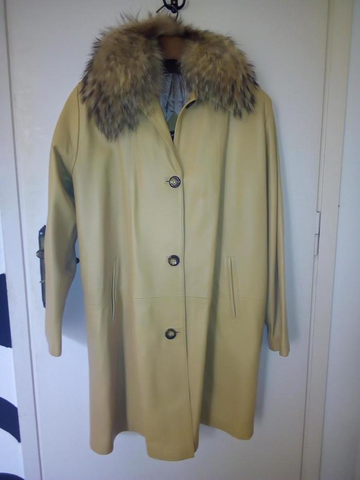 Real leather jacket. Photo 4