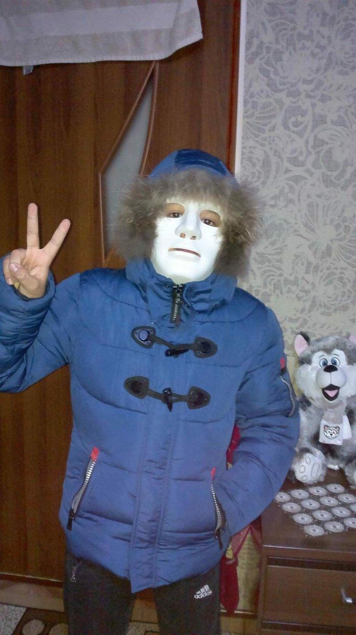 Продаю зимнюю куртку очень тёплую в идеальном  на 12-13 лет в Токмак