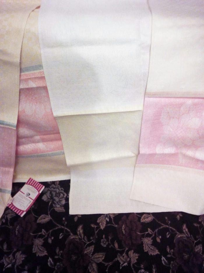 Чайные полотенца 50×1.50м большие ссср цееа одного 15 манат. Photo 0