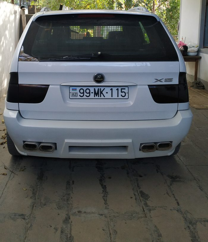 BMW X5 2002. Photo 1