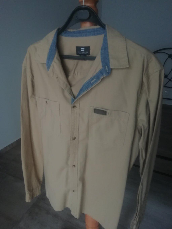 Billabong Κλασι πουκάμισο σε χρώμα μπεζ μέγεθος Μ