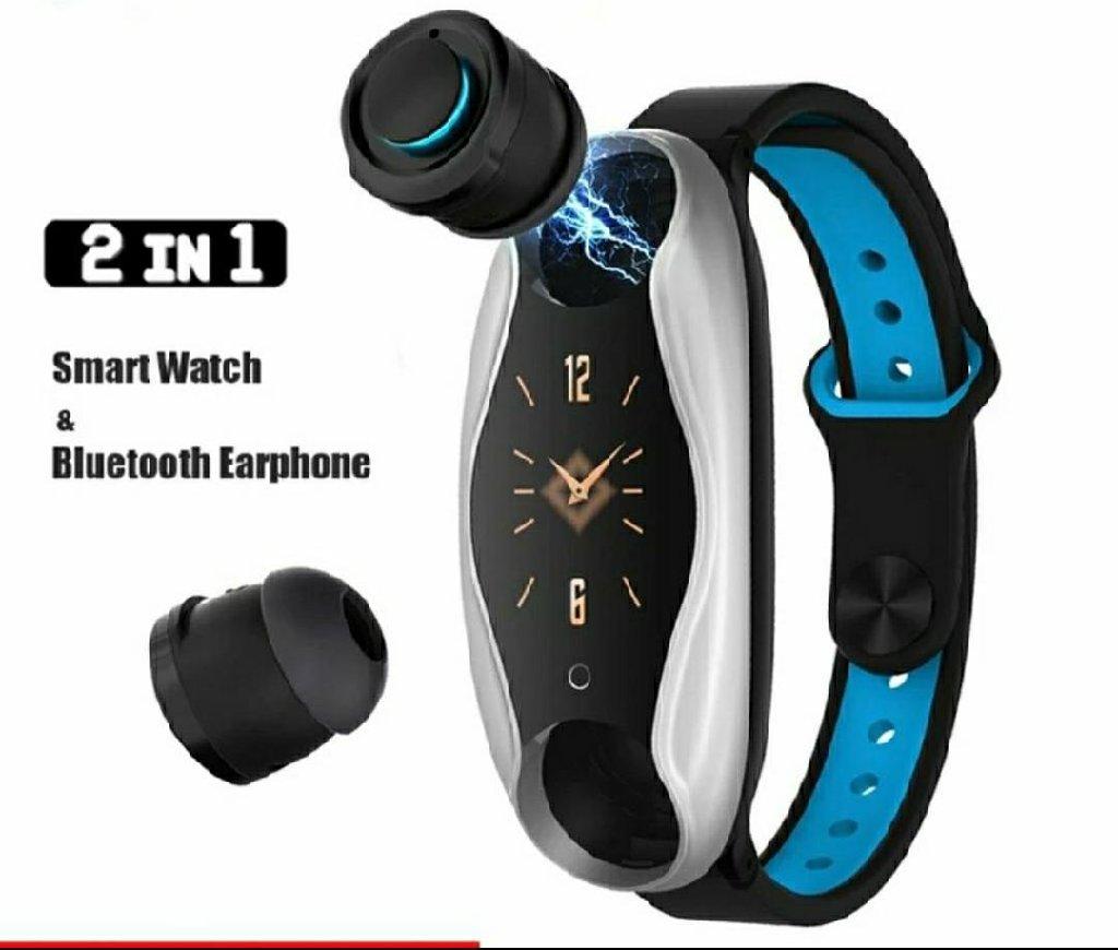 teze qutuda Smart watch+ Bluetooth наушники