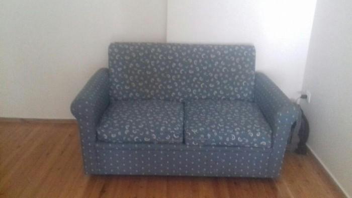 Καναπές διθεσιος -κρεβάτι μόνο 80 ευρώ. Θεσσαλονίκη 9. Photo 0