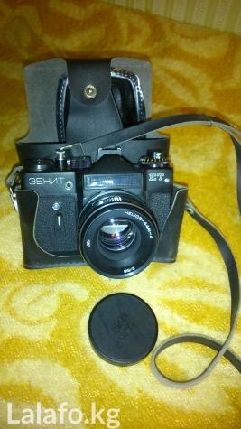 Фотоаппарат Зенит ЕТ с объективом Гелеос 44 М4 в Бишкек
