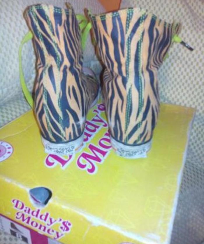 Daddy s money patike br 38 kao nove original zebraste - Indija