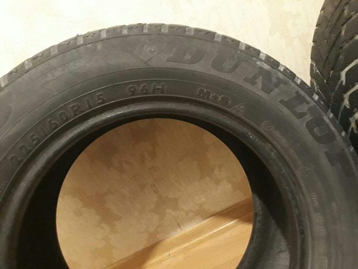 Dunlop 2 cüt təkər. Şporlar əladır. ölçüsü 225/60/15. Photo 1