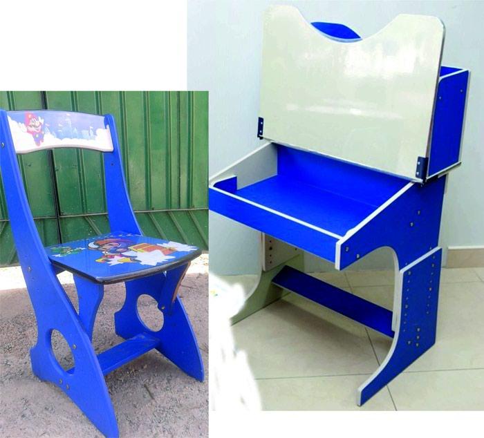 Продаю стул с партой (парта сломано требуется ремонт) прощу 2500 в Бишкек