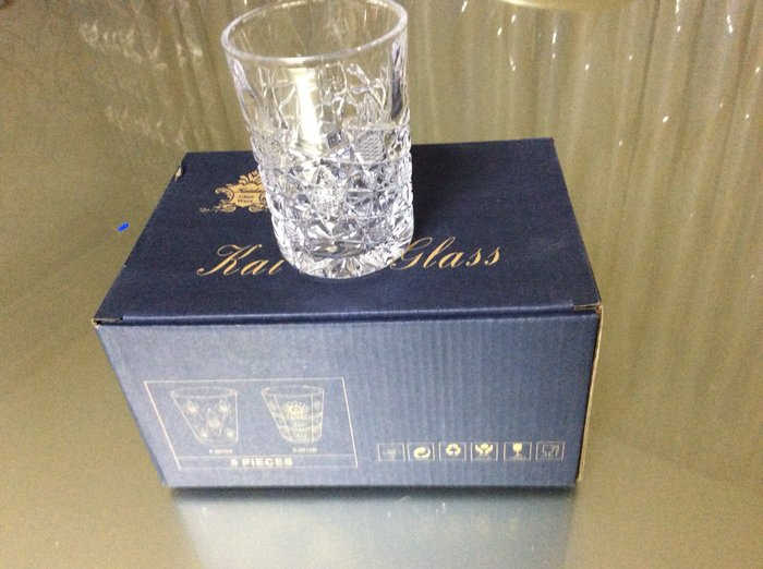 Хрустальные стаканы в упаковке. 6 шт.15.ман. Photo 3