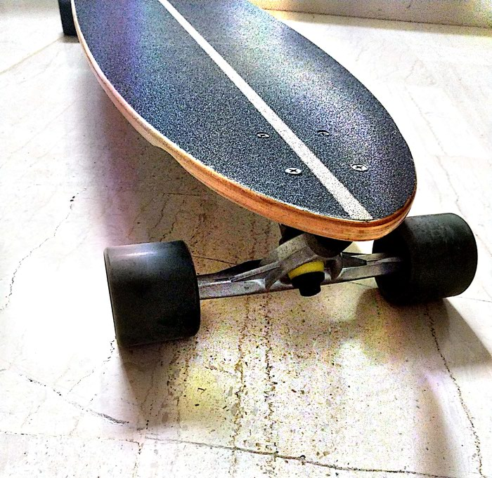 No Rules Longboard. Photo 3