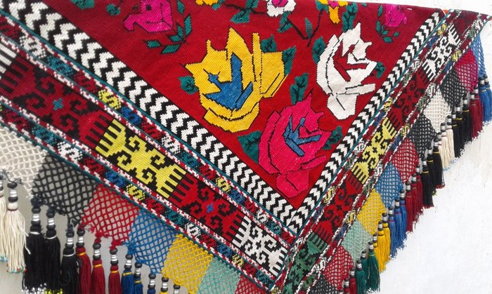 Уголок-панно. полностью ручная вышивка.. Photo 4