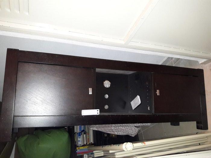 Έπιπλο tv 1.80 μήκος με 2 ντουλαπακια και ραφια. Photo 0