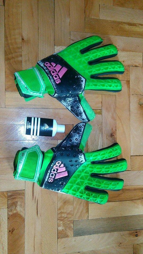 Golmanske rukavice adidas velicina 11. A klasa 4 mm grip pogodan za sv - Beograd