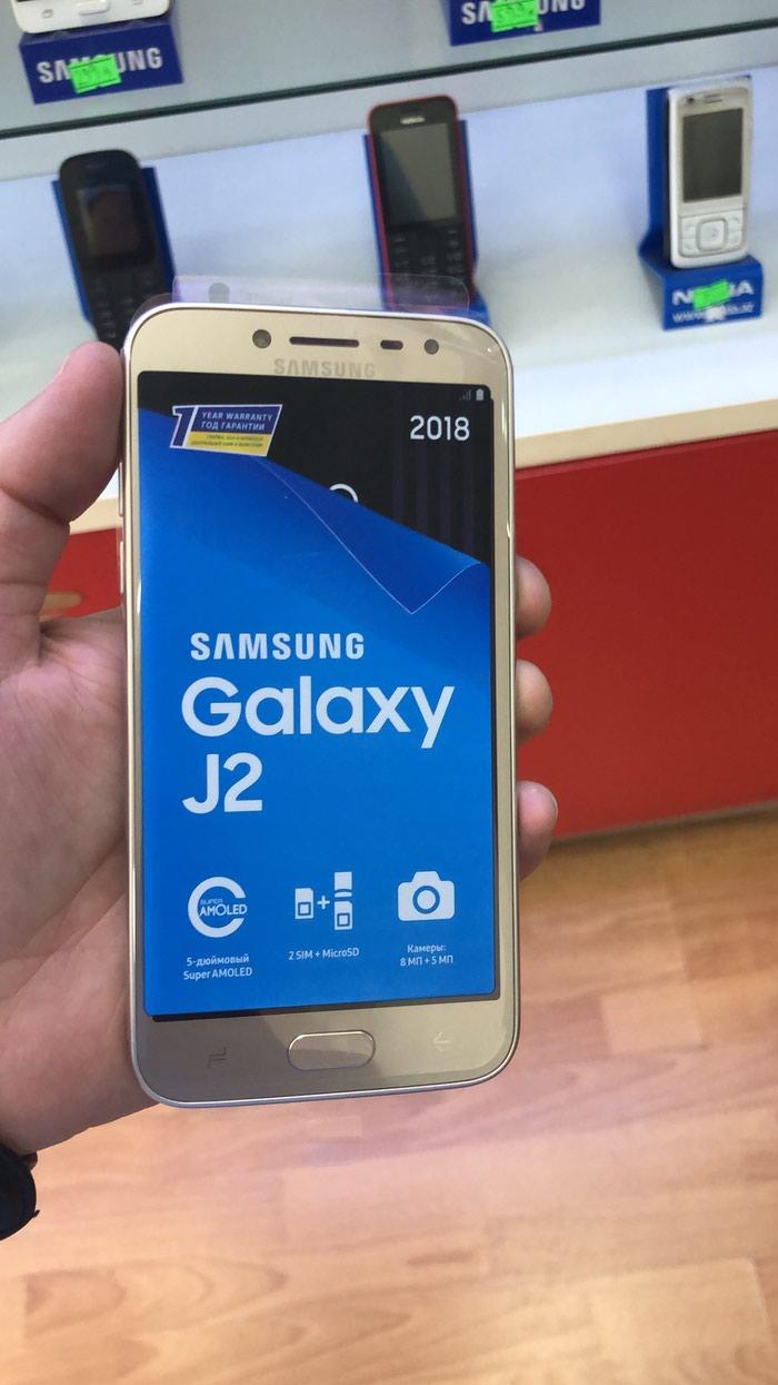 Yeni Samsung Galaxy J2 Pro 2018 16 GB qızılı. Photo 0