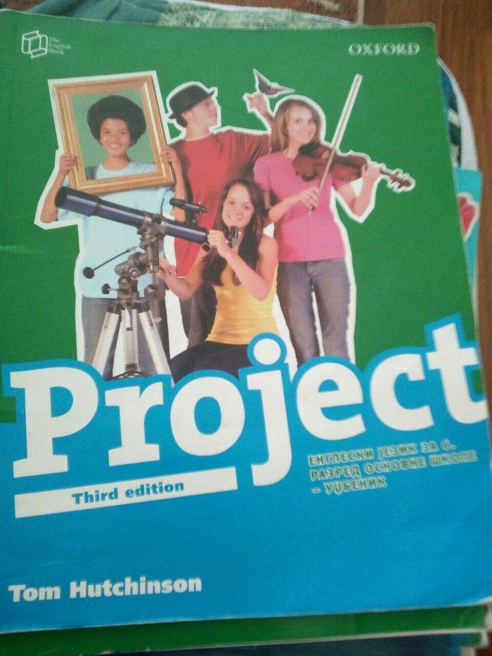 engleski udzbenik i radna sveska za 5 6 razred...project et toi (ko - Bujanovac